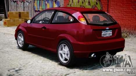 Ford Focus SVT pour GTA 4 est un côté