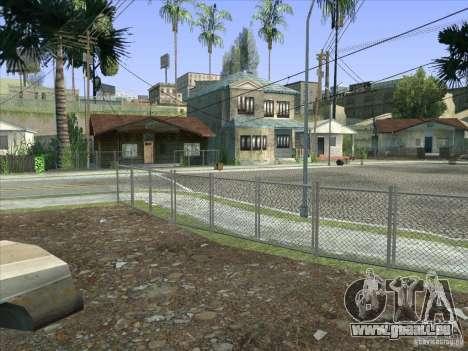 Grove Street Retextured pour GTA San Andreas dixième écran