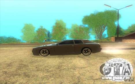 New Elegy Hatch 2011 pour GTA San Andreas laissé vue