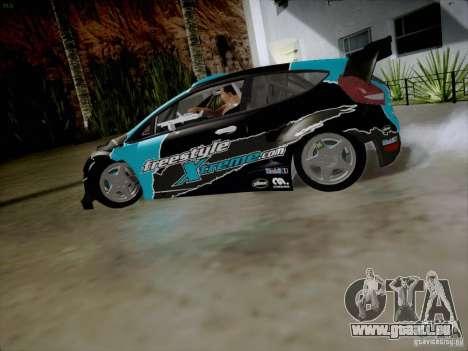 Ford Fiesta RS pour GTA San Andreas laissé vue