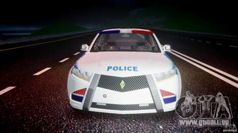 Carbon Motors E7 Concept Interceptor NYPD [ELS] für GTA 4 Innen