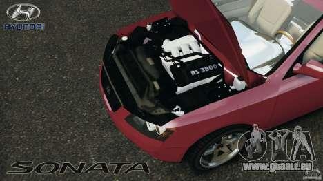 Hyundai Sonata v1.0 für GTA 4 Rückansicht