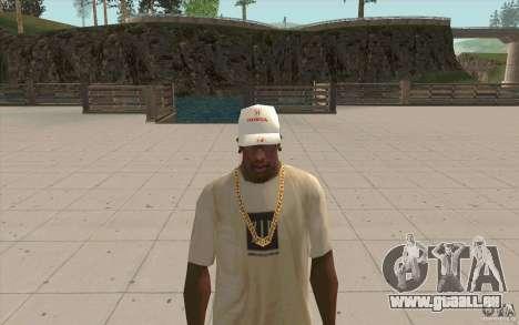 Casquette honda pour GTA San Andreas deuxième écran