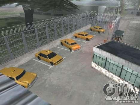 Le premier taxi parc version 1.0 pour GTA San Andreas troisième écran