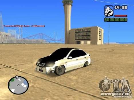 Style de Grant JDM VAZ 2190 pour GTA San Andreas
