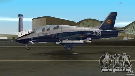 I.A.R. 99 Soim 708 pour GTA Vice City sur la vue arrière gauche