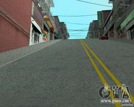 Construction de nouvelles routes à San Fierro pour GTA San Andreas deuxième écran