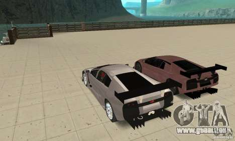 Lamborghini Murcielago R GT pour GTA San Andreas moteur