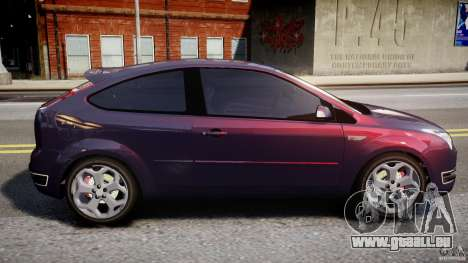 Ford Focus ST MkII 2005 pour GTA 4 est une gauche