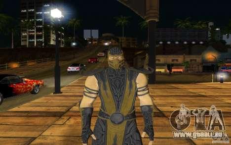 Scorpion v2.2 MK 9 für GTA San Andreas