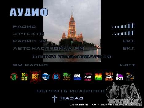 Écran de démarrage de Moscou pour GTA San Andreas septième écran