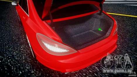 Mercedes-Benz CLS 63 AMG 2012 für GTA 4 Innenansicht