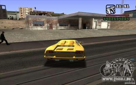 Lamborghini Diablo SV für GTA San Andreas rechten Ansicht