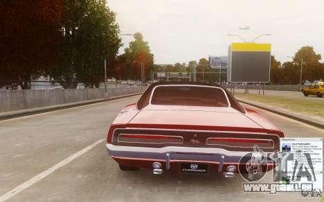 Dodge Charger 440 1969 für GTA 4 hinten links Ansicht