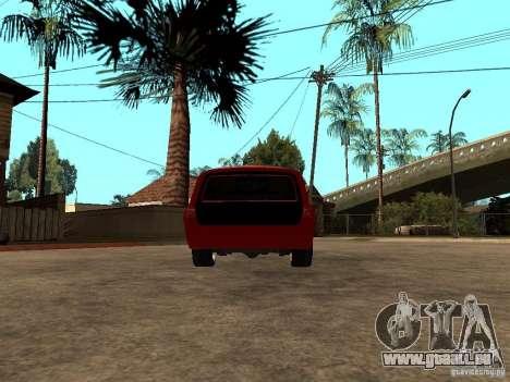 GAZ 24-12 pour GTA San Andreas sur la vue arrière gauche