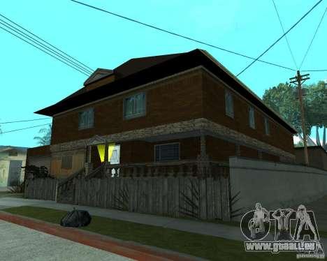 Nouvelle CJâ maison pour GTA San Andreas troisième écran