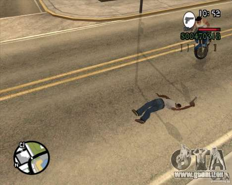 Endorphin Mod v.3 für GTA San Andreas dritten Screenshot