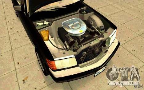 Mercedes Benz 560SEL w126 1990 v1.0 für GTA San Andreas rechten Ansicht