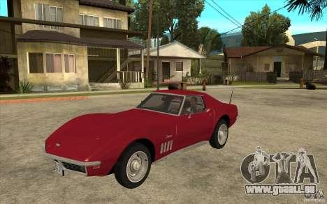 Chevrolet Corvette Stingray pour GTA San Andreas