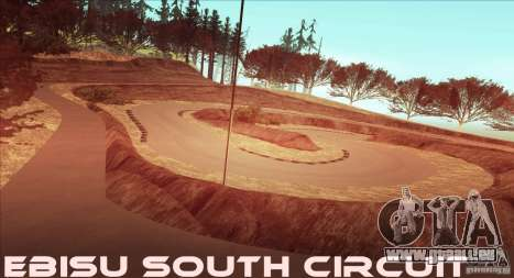 The Ebisu South Circuit für GTA San Andreas