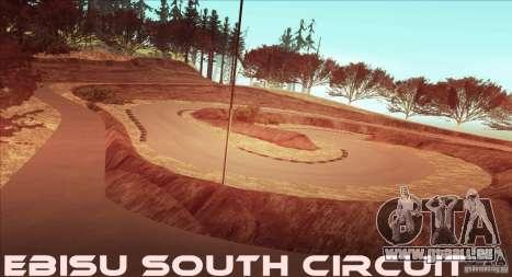 The Ebisu South Circuit pour GTA San Andreas