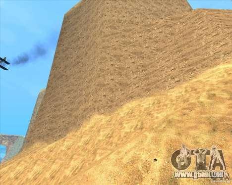 Desert HQ pour GTA San Andreas cinquième écran