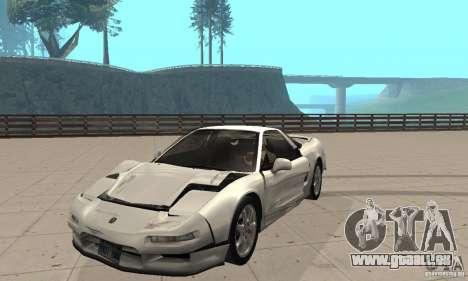 Acura NSX 1991 pour GTA San Andreas vue intérieure