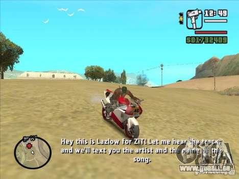 ZiT pour GTA San Andreas troisième écran