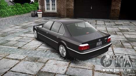 BMW 740i (E38) style 37 pour GTA 4 est un côté