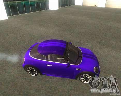 Mini Coupe 2011 Concept pour GTA San Andreas laissé vue