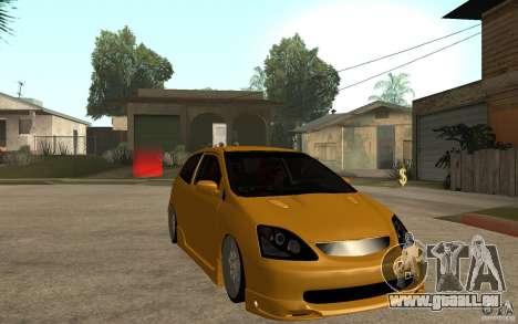 Honda Civic Type-R EP3 für GTA San Andreas Rückansicht