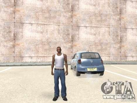 Volkswagen Fox 2011 pour GTA San Andreas vue de droite