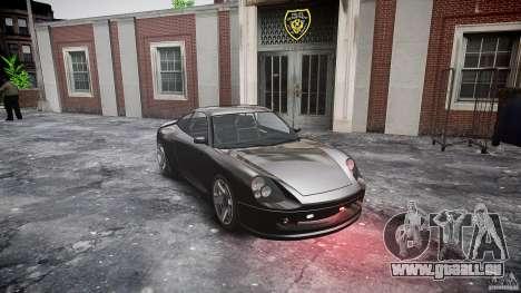 Comet FBI car pour GTA 4