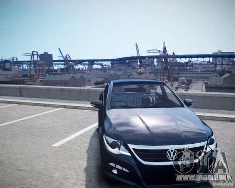 Volkswagen Passat CC pour GTA 4 est un droit