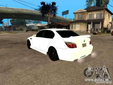 Bmw M5 Ls Ninja Stiil für GTA San Andreas linke Ansicht