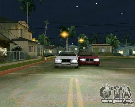 Elegant Limo für GTA San Andreas Innenansicht