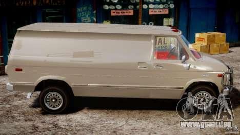 Chevrolet G20 Vans V1.1 pour GTA 4 Vue arrière
