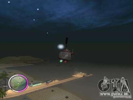 NEW GTA IV HUD 2 pour GTA San Andreas troisième écran