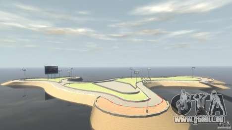 Drifttrack IV für GTA 4 Sekunden Bildschirm