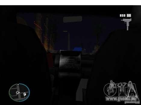 Taxi mod pour GTA San Andreas troisième écran