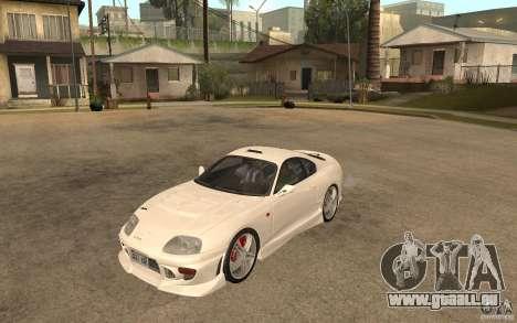 Toyota Supra Tunable für GTA San Andreas