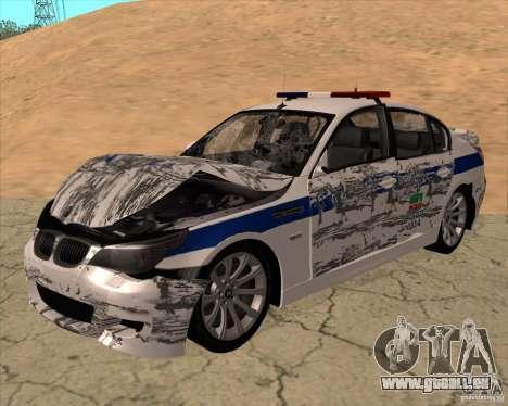 BMW M5 E60 DPS pour GTA San Andreas vue de côté