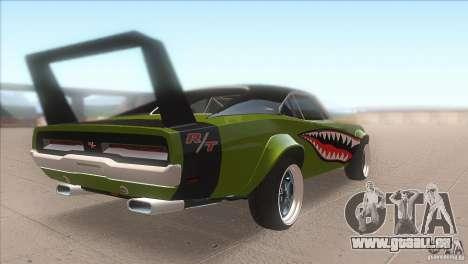 Dodge Charger RT SharkWide für GTA San Andreas rechten Ansicht