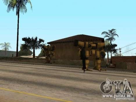 Transformateurs pour GTA San Andreas deuxième écran
