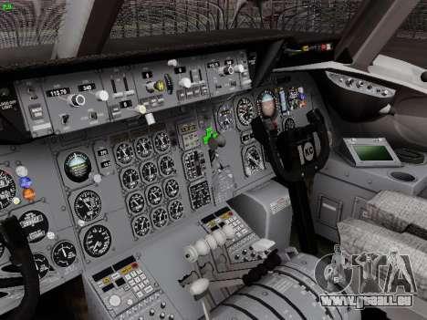 McDonell Douglas DC-10-30 Alitalia pour GTA San Andreas vue de dessus