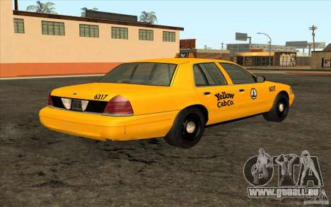 Ford Crown Victoria Taxi 2003 für GTA San Andreas rechten Ansicht
