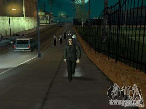 Black Stallion Peds für GTA San Andreas sechsten Screenshot