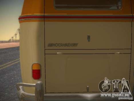 Volkswagen Type 2 Custom für GTA San Andreas Seitenansicht