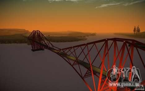HD Water v4 Final pour GTA San Andreas deuxième écran