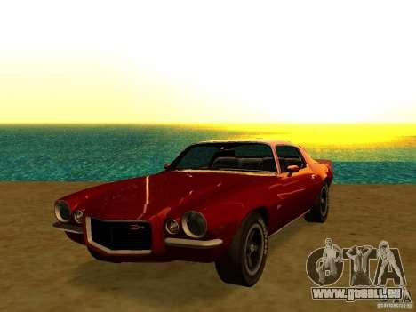 Chevrolet Camaro Z28 1972 pour GTA San Andreas